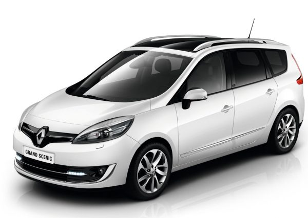 Renault Grand Scenic - BBC Rent A Car